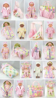 Nog meer patronen voor poppenkleertjes