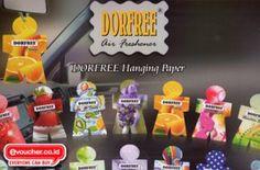 DORFREE Hanging Paper Membuat Ruang Mobilmu Wangi & Nyaman Di kendarai Hanya Rp.17,000/pcs (isi 2) - www.evoucher.co.id #Promo #Diskon #Jual  klik > http://www.evoucher.co.id/deal/oktober-2013-DORFREE-Hanging-Paper  ORFREE Hanging Paper, Pengharum mobil dan ruangan dengan bentuk unik serta wangi buah - buahan & bunga yang segar akan membuat waktu berkendara di mobilmu semakin nyaman. Ada 8 pilihan aroma yang bisa kamu pilih.  pengiriman mulai 2013-11-04