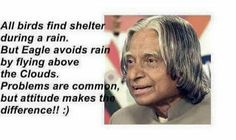 Great man great words