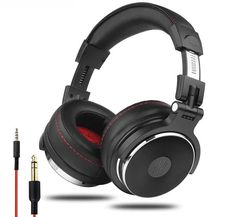 Cheap headphones with microphone, Buy Quality headphones over directly from China dj headphone Suppliers: Oneodio Wired Professional Studio Pro DJ Headphones With Microphone Over Ear HiFi Monitors Music Headset Earphone For Phone PC Cheap Headphones, Studio Headphones, Gaming Headphones, Headphones With Microphone, Headphone With Mic, Cable, Sound Studio, Earmuffs, Coupon