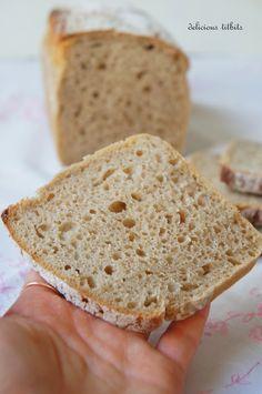 Delicious Titbits: Chleb żytni jasny Bread Recipes, Cake Recipes, Bulgarian Recipes, Pumpkin Cheesecake, Food Cakes, Bread Rolls, Bread Baking, Clean Eating, Per Diem