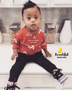 Zolan James - 17 Months • African-American & Mexican
