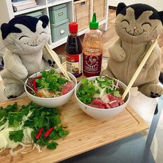 Pho is the best holiday hangover meal! Mao!  #pho #dietfail #foodporn #instafood #hangover #fatcat #fatcatmao #jacobcat #catjacob #cat #smile #catsofinstagram #silly #brothers #family #happy #stuffedanimal #stuffedanimals #mao #meow #xmas #xmastree #holiday by @fatcatmao - more recipes at www.tomcooks.com