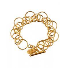 Mirabelle Lolita Gold Plated Bracelet | Venusi Jewels