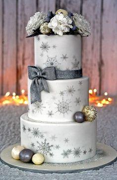 Flakes cake