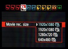 DSLR Video Tips: frame rates explained