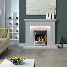 Zoom Fireplace Suites, Marble Fireplaces, Gallery, Home Decor, Roof Rack, Interior Design, Home Interior Design, Home Decoration, Decoration Home