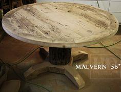 Reclaimed Wood Pedestal Table Oakville kitchen