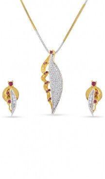 American Diamond Silver and Gold Metal Pendant Set | FH434769120 Follow us @heenastyle  #Necklace #onlineshopping #necklaceset #forsale #gold #artificial #goldplated #designs #fashion #jewelry #fashionjewellry #accessories #womenfashion #pendentset #earing #jumkis #bangle #bracelets #mangalsutra #tikka #headpieces #handbags #cluethesbeg #ring #indianfashion #fashionista #anklets #bridelset #weddingset #dimondset #brass #metal #heenastylenecless #heenastyle
