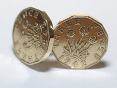Farthing Cufflinks 84th Birthday 1937 Coin Cufflinks Mens Birthday Anniversary Present Gift Cufflinks 84th Birthday