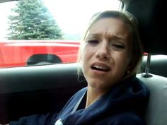 Nina is funny after wisdom teeth removal.