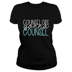 Counselor Tees - School Counselor T-Shirts - Counselor Keri Counselor Office, Teaching Shirts, Middle School Counseling, Professional School, Graduation Shirts, Tee Shirts, Tees, Boys Shirts, School Psychology