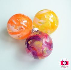 Melted Crayon Ornaments! Fabulous Idea!