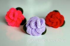 pipe cleaner rose rings with link to video tutorial