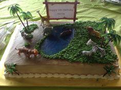 Safari cake!