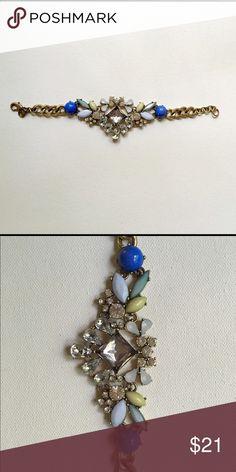 J Crew stone bracelet New and unworn. So pretty! J. Crew Jewelry Bracelets
