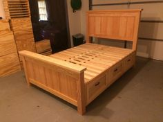 Ana White | Farmhouse Storage Bed with Drawers - Twin and Full - DIY Projects