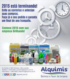 Alquimis Química Industrial: Garanta seus pedidos ainda em 2015.