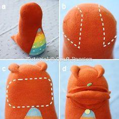 Sock Dragon - Free Sewing Pattern
