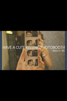well not necessarily the kissing thing but the phone booth, multiple pictures at intervals experience WITH my best friend!
