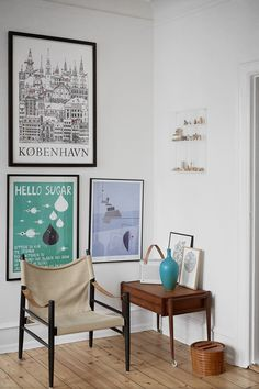 Danish home with new and old design classics - COCO LAPINE DESIGN