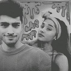 Imagem de silly, hot couple, and ariana grande