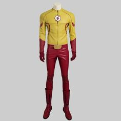 Flash Season III Cosplay Costumes