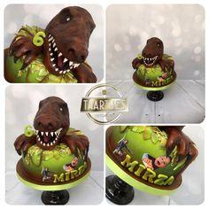 T rex cake - Cake by Taartjes Toko