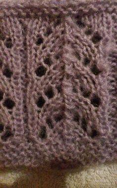 Drutolandia: Łatwy wzór na drutach