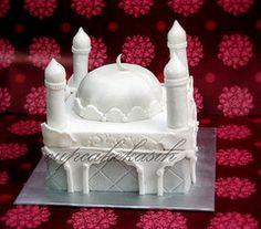 Mosque Cake by Cupcakekasih, via Flickr