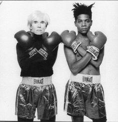 Andy Warhole & Jean Michel Basquiat