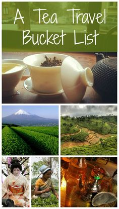 The best travel destinations for people who love to drink tea. this is perfect for me!!