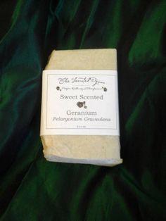 Sweet Scented Geranium Natural Handmade Soap