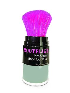 Rootflage TITANIUM (Silver/Gray/Metallic Hair) Temporary /Fashion Coloroot Touch Up ** See this great product. (Amazon affiliate link)