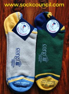 Sock Council x Corgi Hosiery: Summer Trainer Socks | Sock Council