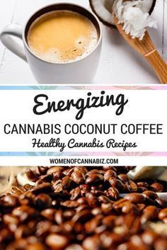 INGREDIENTS FOR CANNABIS COCONUT COFFEE: 15 – 30 ml Cannabis Coconut Coffee Creamer + 300 ml hot coffee, freshly brewed from your favorite organic, freshly-ground coffee beans + Raw honey for a sweetener –> Try this Energizing Cannabis Coconut Coffee: htt Weed Recipes, Marijuana Recipes, Cannabis Edibles, Sweet Coffee, Hot Coffee, Coffee Van, Cheap Coffee, Kitchens