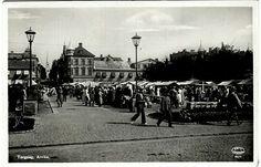 Värmland Arvika torgdag 1930-tal