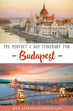 Are you planning to spend a weekend in Budapest? Plan your trip according to this perfect 2 day Budapest itinerary to see the most of Budapest! European Travel Tips, Europe Travel Guide, Europe Destinations, Travel Guides, Travelling Europe, Backpacking Europe, Travel Advice, Traveling, Budapest Travel