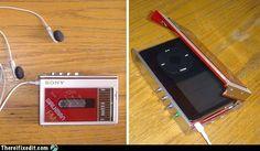 Walkman iPod case