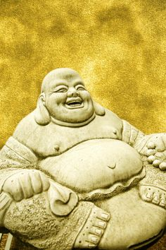 The laughing Buddha: is a feng Shui symbol of wealth and prosperity.