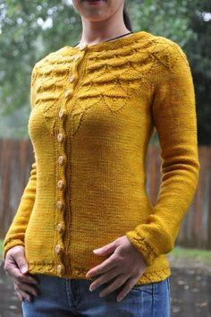 Mustard yellow sweater