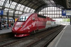 Thalys From Paris to Amsterdam & back