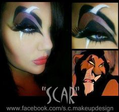 Sugarpill Cosmetics  Oh my god, this is outstanding!! Sarah used Sugarpill to transform herself into Scar. She nailed it dead on! — with Melenie Sarabia, Tirsa Germanotta Minaj and Sparkel Porter.