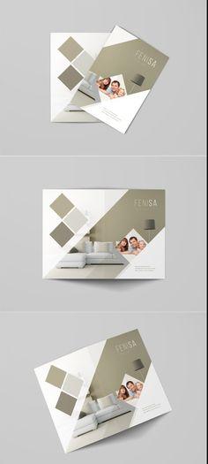 A Bifold Brochure Mockup Psd  Mockups Psd Templates For