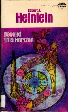 Stained-glass sci-fi art--love it! --Pia (Beyond this horizon - Robert Heinlein)