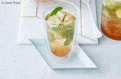 Limetten-Minze-Limo