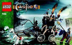 Castle - Skeletons Prison Carriage [Lego 7092]