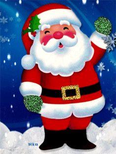 Дед Мороз - анимация на телефон №1099882