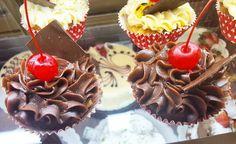Cup cake de chocolate #confeitariapolos (em Polos Pães e Doces)