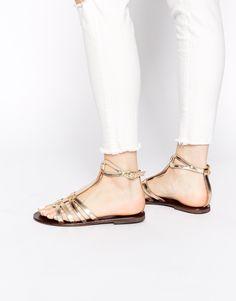 ASOS FENTON Gladiator Leather Sandals 33.00